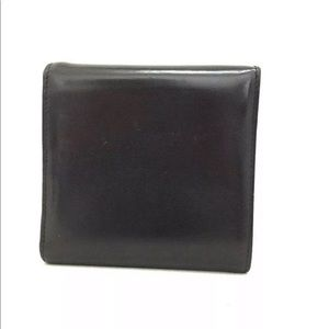 Cartier Bags - Cartier Panther Small Compact Leather Wallet